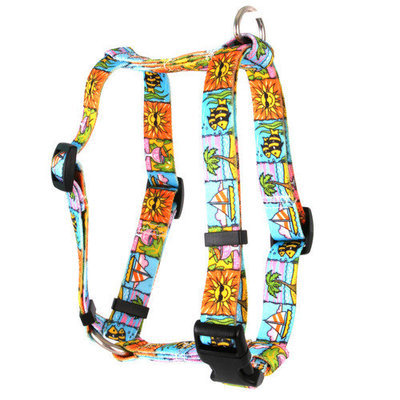 Yellow Dog Design H-SSD104XL Seaside Roman H Harness - Extra Large