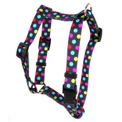 Yellow Dog Design H-GUM101SM Gumballs Roman Harness - Small/Medium