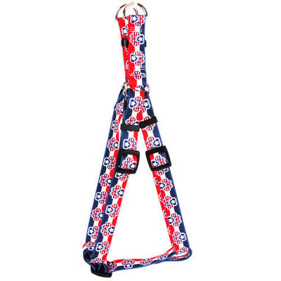 Yellow Dog Design SI-PP100XS Patriotic Paws Step-In Harness - Extra Small