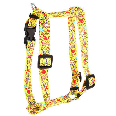 Yellow Dog Design Happy Birthday Roman Harness