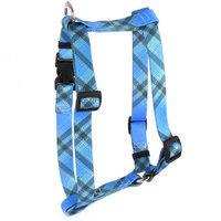 Yellow Dog Design H-BUK103L Blue Kilt Roman Harness - Large