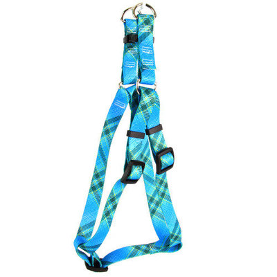 Yellow Dog Design SI-BUK101S Blue Kilt Step-In Harness - Small
