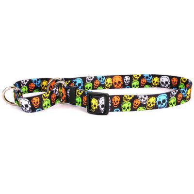 Yellow Dog Design Neon Skulls Martingale Collar