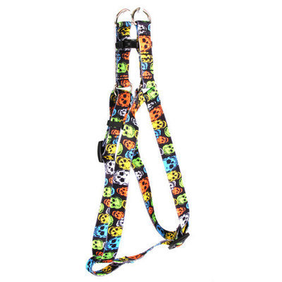 Yellow Dog Design SI-NPS103L Neon Peace Signs Step-In Harness - Large