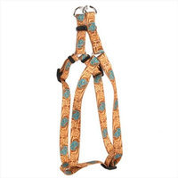 Yellow Dog Design SI-LRT101S Leather Rose Teal Step-In Harness - Small