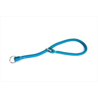 Yellow Dog Design TEL118T Teal Round Braided Training Collar - 18 in.