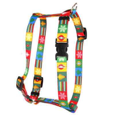 Yellow Dog Design H-BLOC103L Holiday Blocks Roman Harness - Large