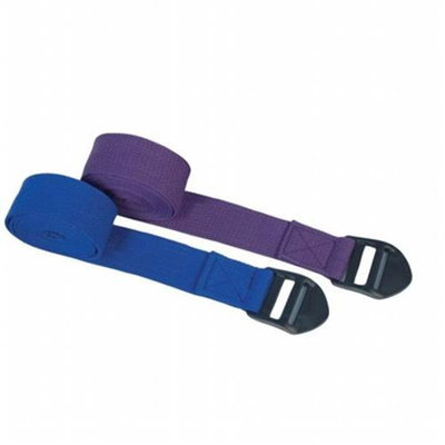 Power Systems 83405 6 ft. Yoga Straps - Purple