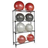 Power Systems 92502 12 Stability Ball Storage Rack