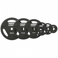Power Systems 61092 10 lbs Olympic Grip Plates