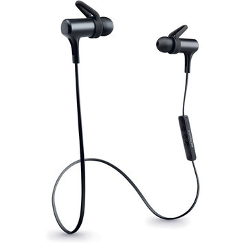 Merkury Innovations Black Force Sport Bluetooth Earbuds