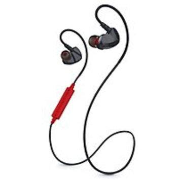 Merkury Innovations MI-BTE02-600 Link Bluetooth Sport Earbuds with Microphone - Black, Red