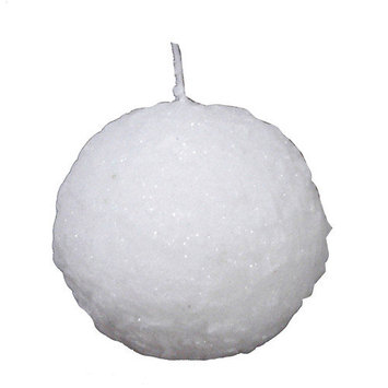 Fantastic Craft Snowball Novelty Candle Size: 4