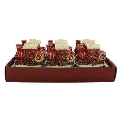 Fantastic Craft Train Tea Light Novelty Candle