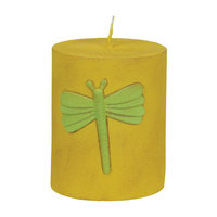 Fantastic Craft Dragonfly Pillar Candle Size: 3