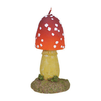Fantastic Craft Mushroom Novelty Candle