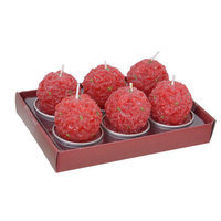Fantastic Craft Red Ball T- lite Novelty Candle