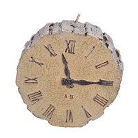 Fantastic Craft Clock Novelty Candle Color: Snow