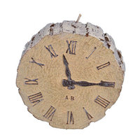 Fantastic Craft Clock Novelty Candle Color: Natur