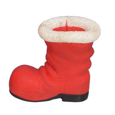 Fantastic Craft Santa Boot Novelty Candle Size: 4