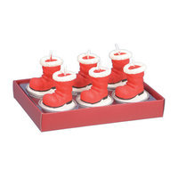 Fantastic Craft Santa Boot Tea Light Novelty Candle