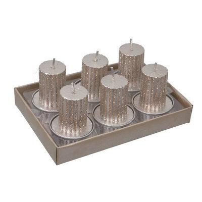Fantastic Craft Tea Light Pillar Candle Color: Champ