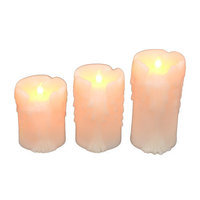 Fantastic Craft 3 Piece Dripping Candle Set with Remote