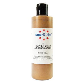 Americolor Amerimist Copper Sheen Pearl 9 Ounce Airbrush Food Color