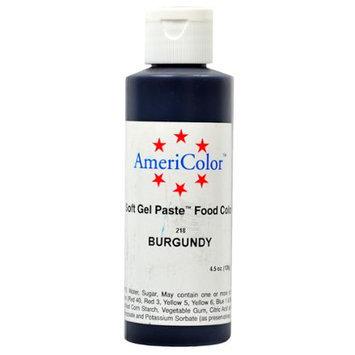 AmeriColor BURGUNDY SOFT GEL PASTE Cake Food Color 4.5