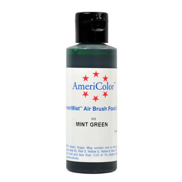 AmeriColor MINT GREEN Cake Airbrush Food Color 4.5 oz.