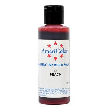 AmeriColor AmeriMist PEACH 4.5oz Airbrush Cake Decorating Color