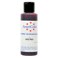AmeriColor RED RED AIRBRUSH COLOR 4.5oz Cake Decorating
