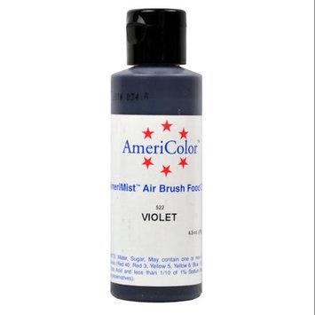 AmeriColor AmeriMist VIOLET 4.5oz Airbrush Cake Decorating Color
