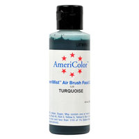 AmeriColor TURQUOISE Cake Decorating Airbrush Color 4.5