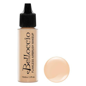 New Belloccio Pro Airbrush Makeup IVORY SHADE FOUNDATION Flawless Face Cosmetics
