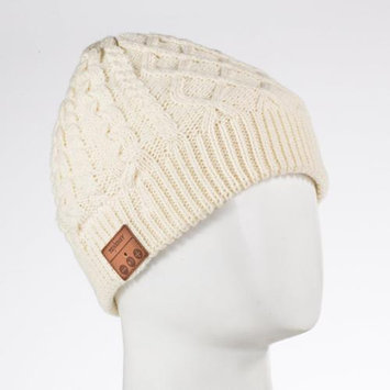 Tenergy Bluetooth Beanie Cable Knit CREAM Color