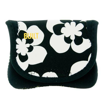 BUILT Neoprene Compact Camera Envelope - Summer Bloom, Black/White