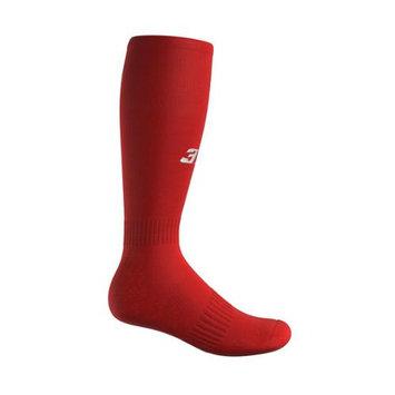 3N2 4200-35-M Full Length Socks - Red Medium