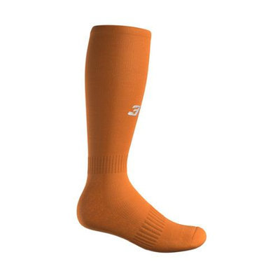 3N2 4200-09-XL Full Length Socks - Orange Extra Large