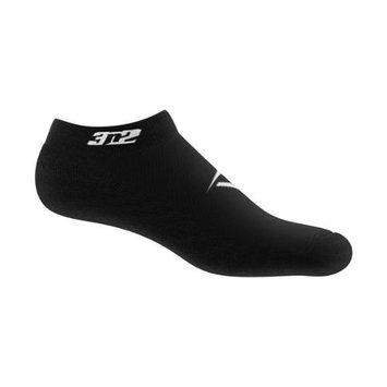 3N2 4210-01-SM Ankle Socks - Black Small