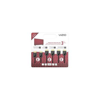 VIZIO TXCHMT-C2K High-Speed HDMI Cable - 3 Pack (4'M, 8'M & 8'M)