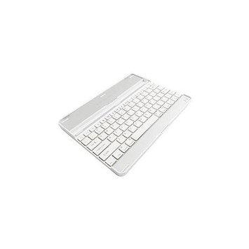 Axiom Memory Solutionlc Axiom Keyboard/Cover Case for iPad - White - Aluminum