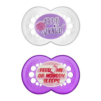 Mam Baby MAM Attitude Pacifiers, 2 count