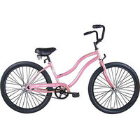 Micargi Pink Touch 7 Sp Beach Cruiser Female