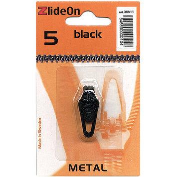 Fix-A-Zipper 3051-1 ZlideOn Zipper Pull Replacements Metal 5-Black