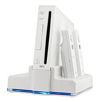 Creative Mind Interactive DGWII-1036 Dual Charging Station- White