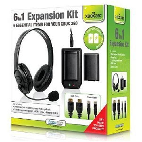 dreamGEAR 6 in 1 Expansion Kit for Xbox 360