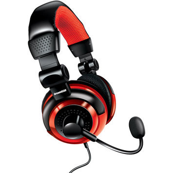 Fillpoint Dreamgear - Universal Elite Wired Headset - Black/Red