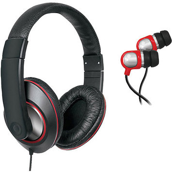 Eforcity 2-IN-1 SOUND KIT DJ-STYLE HEADPHONES and