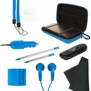 DreamGEAR Nintendo 3DS 13-In-1 Gamer Pack - Blue